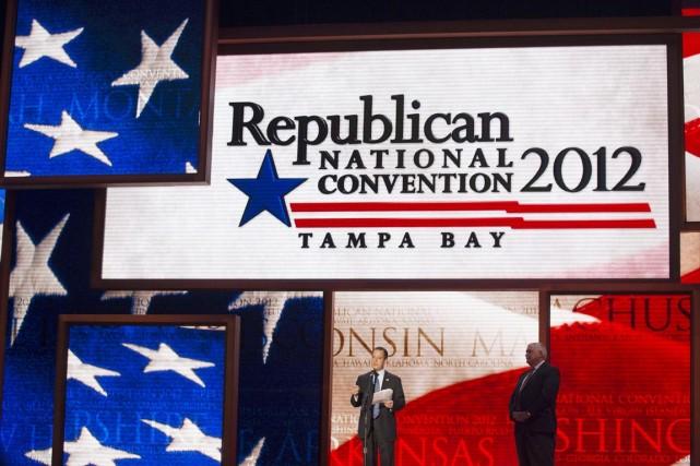 En 2012, les républicains avaient tenu leur convention... (PHOTO SCOTT AUDETTE, ARCHIVES REUTERS)