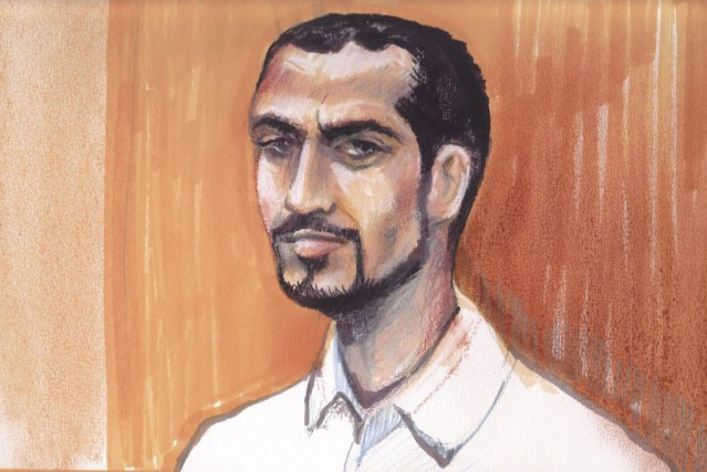 Omar Khadr en 2013.... (ILLUSTRATION AMANDA MCROBERTS, ARCHIVES LA PRESSE CANADIENNE)