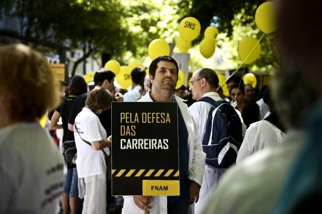 La Fédération nationale des médecinsa chiffré en fin... (PHOTO PATRICIA DE MELO MOREIRA, AFP)