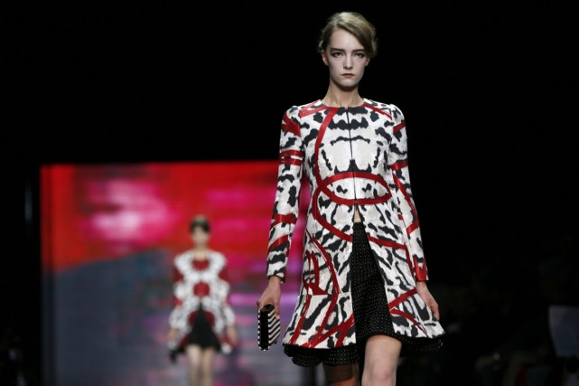 Ce qu'on retiendra de la collection d'Armani pour... (Photo Gonzalo Fuentes, Reuters)