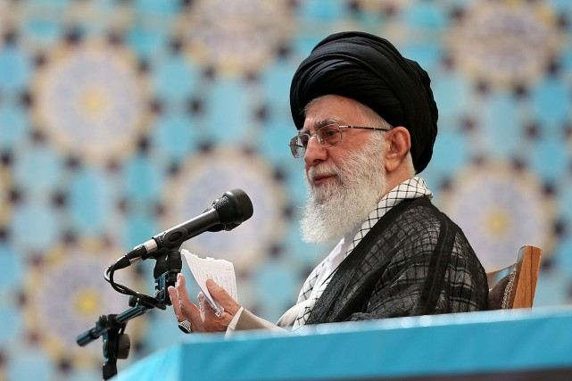 L'ayatollah Khamenei.... (PHOTO REUTERS)