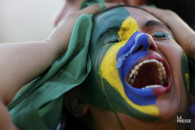 La défaite cinglante du Brésil s'est traduite par... (Photo Ueslei Marcelino, Reuters)