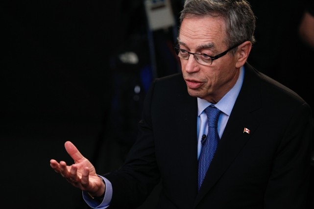 Le ministre des Finances, Joe Oliver, doit tenir... (Photo Chris Goodney, Bloomberg)