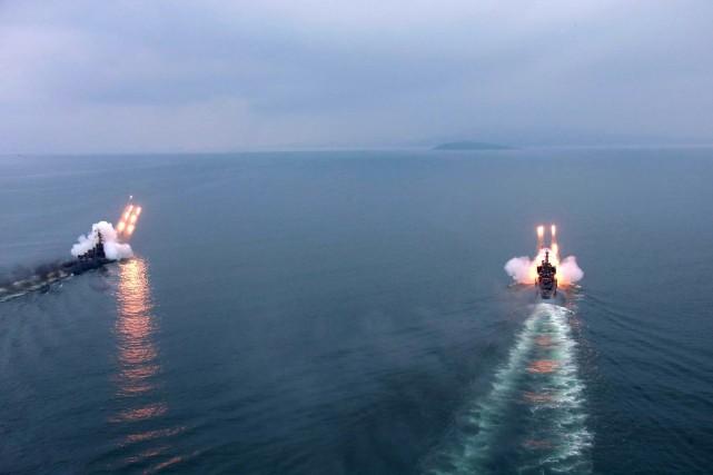 Le Nord avait menacé la semaine dernière de... (Photo AFP)