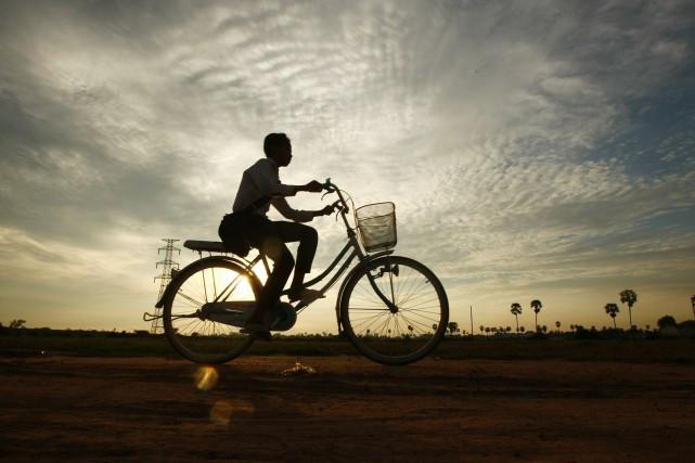 Au Cambodge, la multiplication des orphelinats et divers... (Photo Heng Sinith, AP)