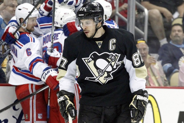 Le rendement de Sidney Crosby en séries éliminatoires... (Photo Charles LeClaire, USA Today)