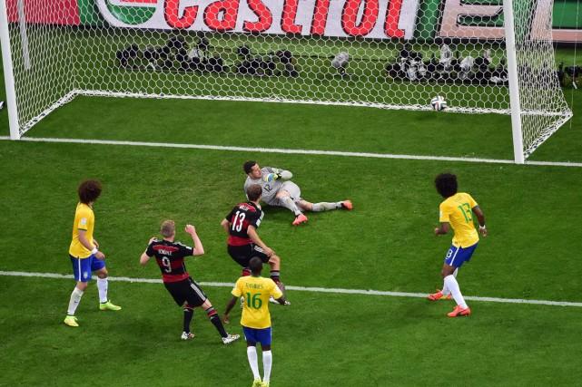 Avec 167 buts marqués en 61 matchs, et encore trois à jouer, le Mondial 2014 au... (Photo François Xavier Marit, AP)