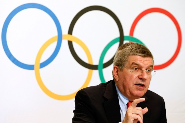 Le président du CIO, Thomas Bach.... (Photo Denis Balibouse, archives Reuters)