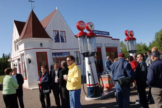 Le Village historique acadien a ouvert ses portes... (PHOTO CP /L'Acadie Nouvelle - Mario Landry)