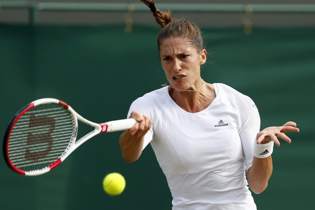 Andrea Petkovic... (Photo Andrew Cowie, archives AFP)