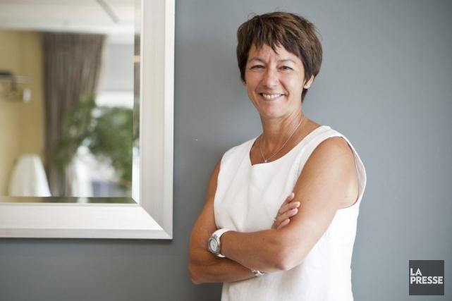 Marie-Claude Boisvert, chef de l'exploitation de Capital régional... (SARAH MONGEAU-BIRKETT, LA PRESSE)