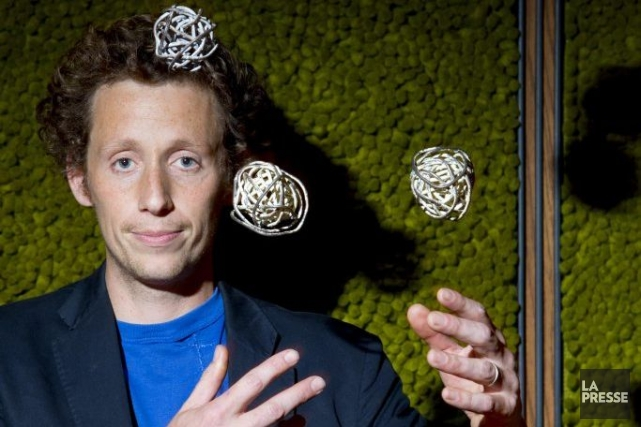 Âgé de 29 ans, l'artiste de cirque breton Étienne Saglio est l'une des figures... (Photo: Alain Roberge, La Presse)