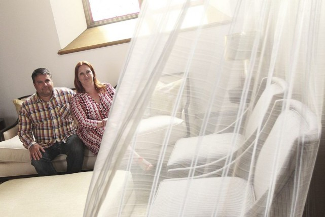 Les nouveaux propriétaires de l'église St. James, Stéphane... (Étienne Ranger, LeDroit)