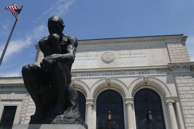 Le Detroit Institute of Arts... (Photo: Reuters)