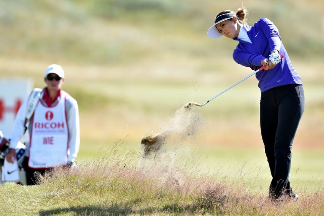 Michelle Wie... (Photo Paul Ellis, AFP)