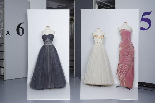 «Jupes longues, tailles étroites, décolletés hardis»: ainsi résumée à l'époque... (Photo fournie par le Palais Galliera)