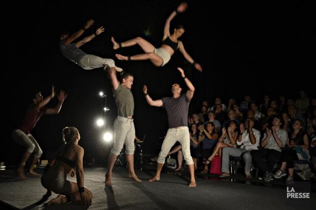 À l'Agora de la danse hier soir, la... (Photo: Bernard Brault, La Presse)
