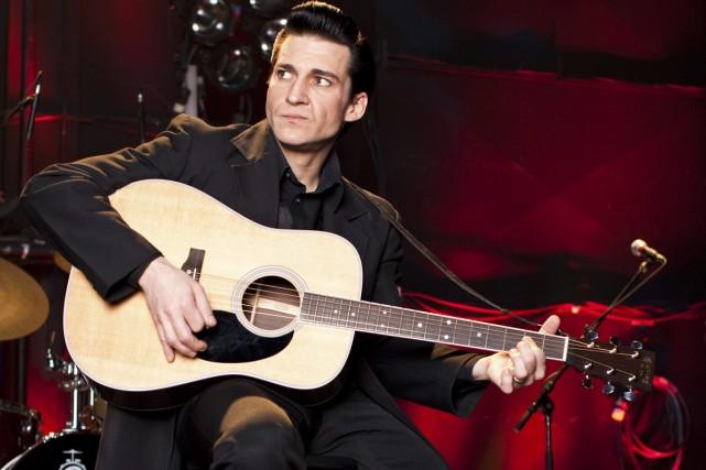 Shawn Barker incarne Johnny Cash dans la revue... (Photo: fournie par Ho-Mirvish Productions)