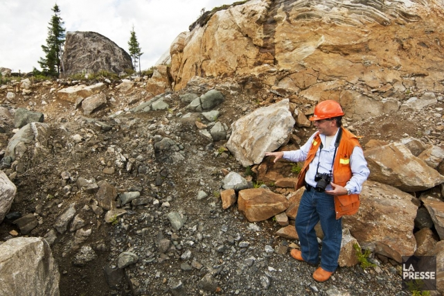 Stornoway soutient qu'il s'agit d'un des gisements diamantifères... (Photo Hugo-Sébastien Aubert, Archives La Presse)