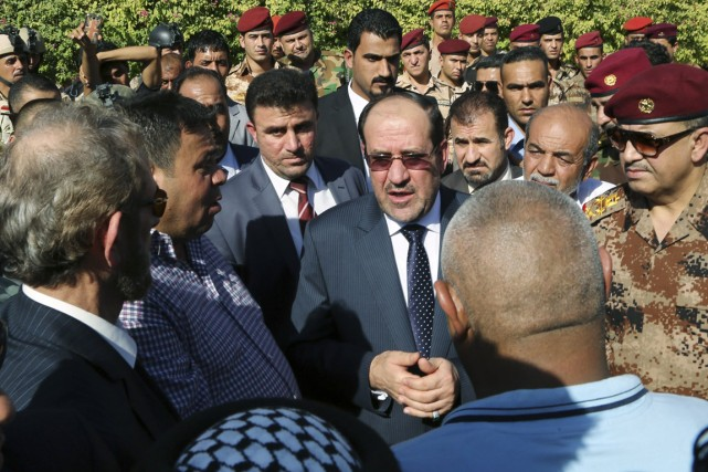 Le premier ministre Nouri al-Maliki, à Bagdad, le 7... (PHOTO ARCHIVES REUTERS/STRINGER)