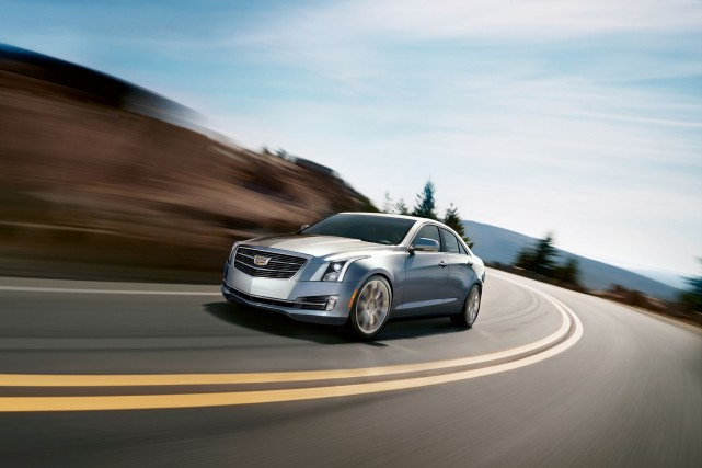 La Cadillac ATS 2015... (Photo fournie par GM)