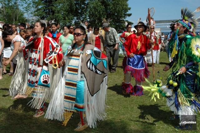 Le pow-wow de Mashteuiatsh.... (Photo Archives Le Quotidien)