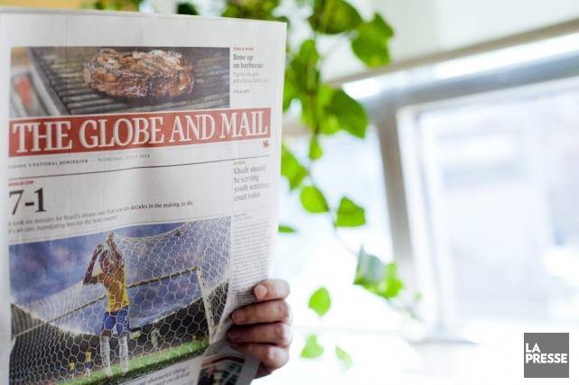 Les employés syndiqués duGlobe and Mailont accepté la plus récente... (PHOTO SARAH MONGEAU-BIRKETT, LA PRESSE)
