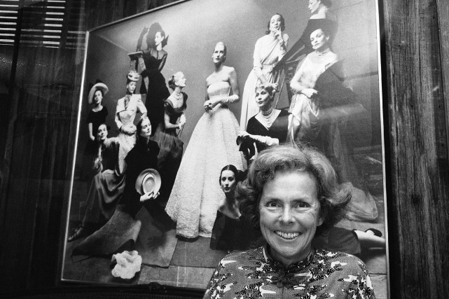 La co-fondatrice de l'agence de mannequins Ford, Eileen Ford,... (Photo Marty Lederhandler, Archives AP)