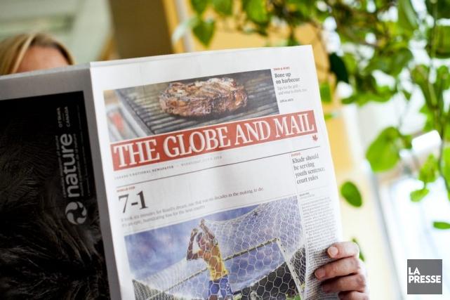 Les employés du Globe and Mail ont voté à 84% hier en faveur de l'entente... (Photo: Sarah Mongeau-Birkett, La Presse)