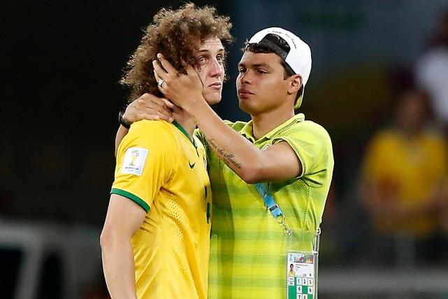 Après la défaite humiliante de 7-1 du Brésil... (Photo Adrian Dennis, AFP)