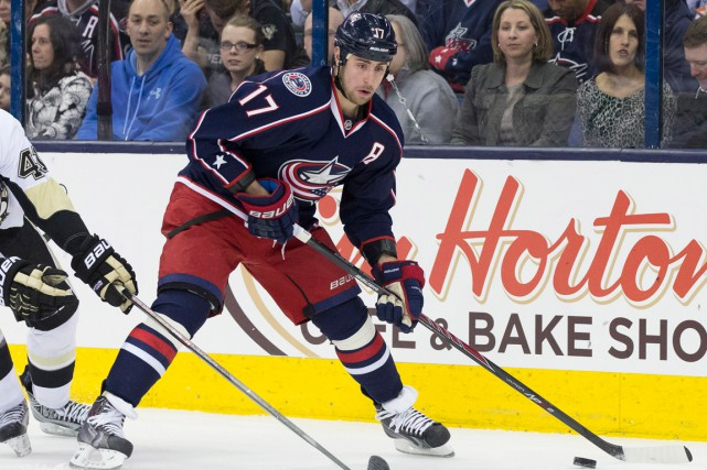 Brandon Dubinsky... (Photo Greg Bartram, archives USA Today)