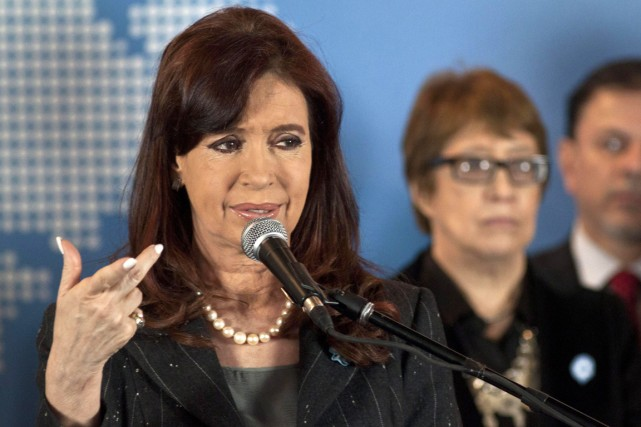 La présidente de l'Argentine, Cristina Kirchner.... (Photo AFP)