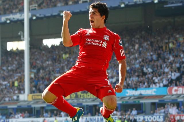 Luis Suarez a marqué 31 buts en 33... (Photo Phil Noble, archives Reuters)