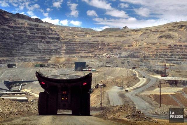 Une mine de cuivre.... (Photo AFP)