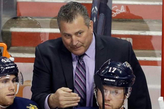 Peter Horachek, qui a agi comme entraîneur-chef des... (Photo Lynne Sladky, AP)