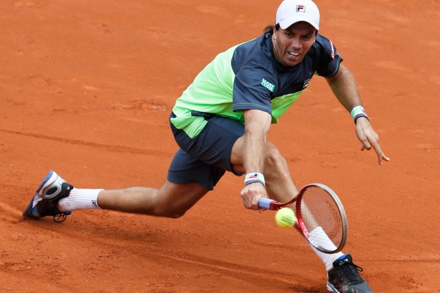 Carlos Berlocq... (PHOTO JEAN-PAUL PELISSIER, ARCHIVES REUTERS)
