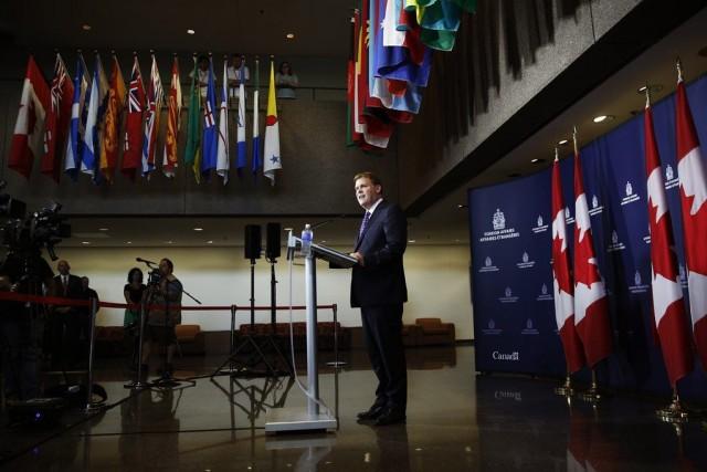 Selon le ministre des Affaires étrangères John Baird,il... (PHOTO BLAIR GABLE, REUTERS)