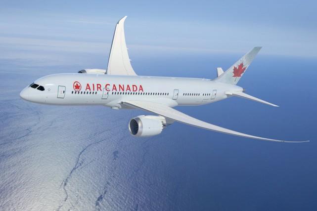 Avec l'arrivée toute récente du nouveau Boeing787 Dreamliner... (PHOTO FOURNIE PAR AIR CANADA)