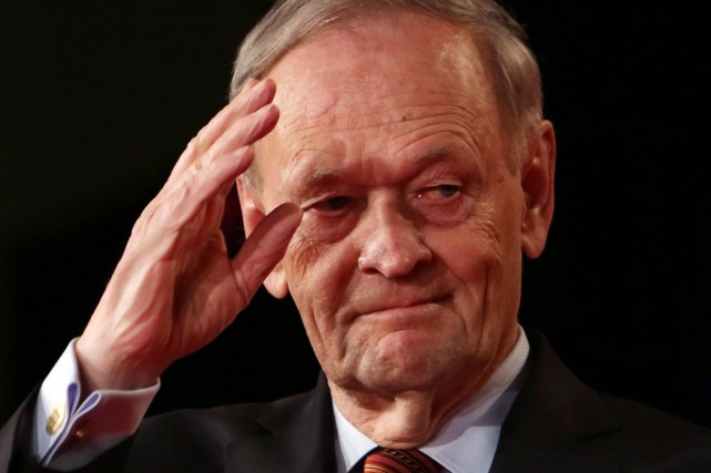 Jean Chrétien... (PHOTO FRED CHARTRAND, ARCHIVES PC)