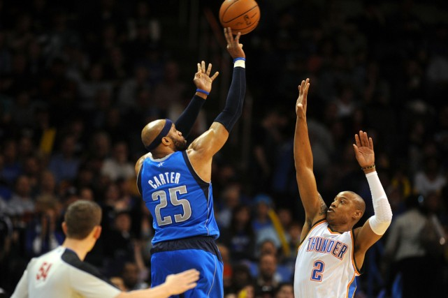 Vince Carter a évolué avec les Mavericks de... (Photo Mark D. Smith, USA TODAY Sports)