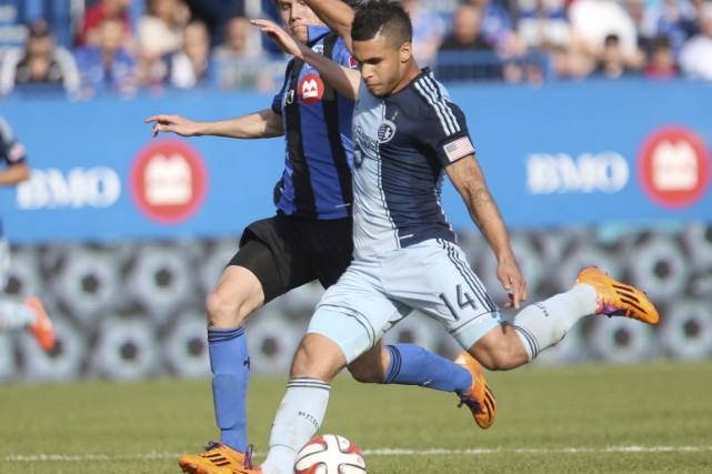 Dom Dwyer a déjà marqué 12 buts cette... (Photo USA TODAY Sports)