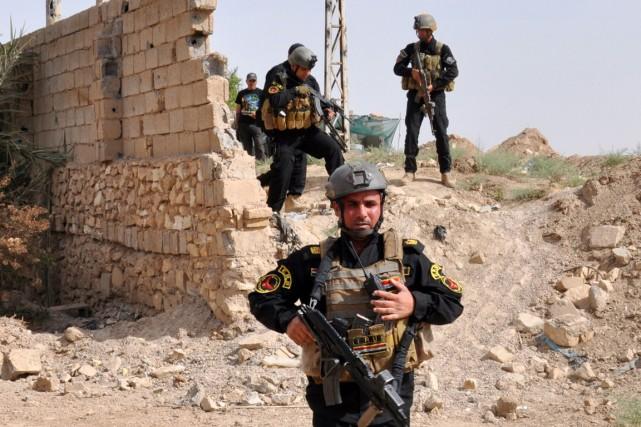 Treize insurgés et quatre policiers ont été tués... (Photo AFP)