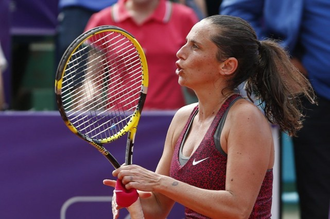 Roberta Vinci... (PHOTO BOGDAN CRISTEL, REUTERS)