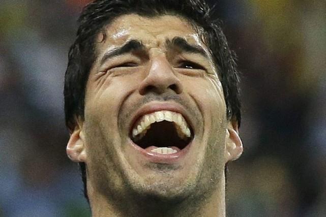 Luis Suarez a été transféré de Liverpool à... (PHOTO MATT DUNHAM, AFP)