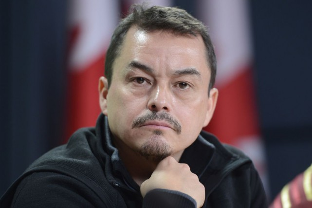 Shawn Atleo.... (PHOTO ARCHIVES LA PRESSE CANADIENNE)