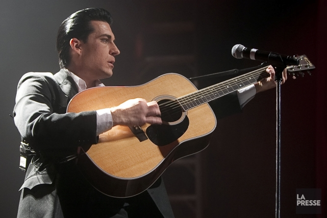 Shawn Barker présente son hommage à Johnny Cash,... (PHOTO ANDRÉ PICHETTE, LA PRESSE)