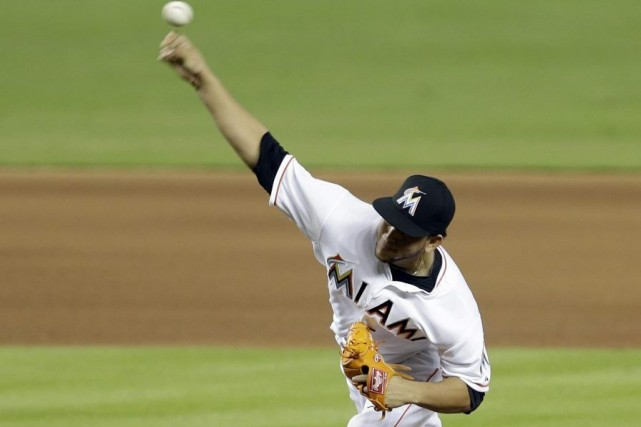 Henderson Alvarez... (PHOTO ALAN DIAZ, ASSOCIATED PRESS)