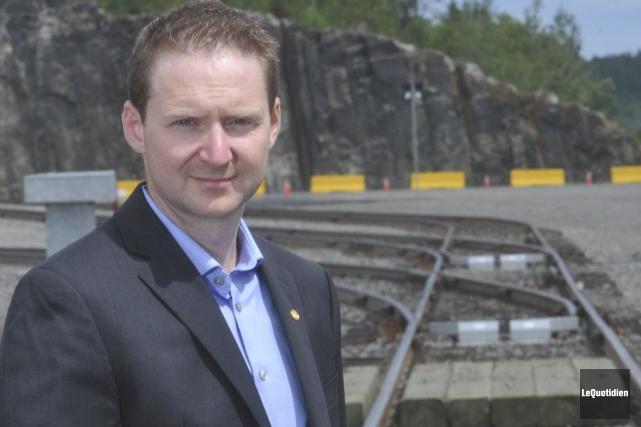 Carl Laberge, directeur général de Port Saguenay.... ((Archives Le Quotidien))
