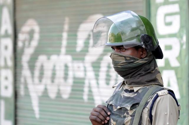 Les tensions ethniques sont élevées dans cette région... (PHOTO ROUF BHAT, AFP)