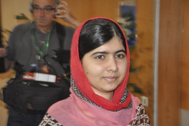 Malala Yousafzai, une jeune Pakistanaise qui a survécu... (Photo Olamikan Gbemikan, AP)